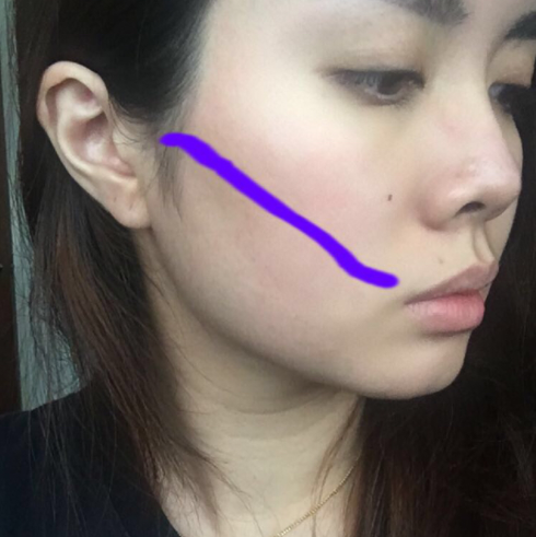 So basically, this line shld quite accurately place your contour.