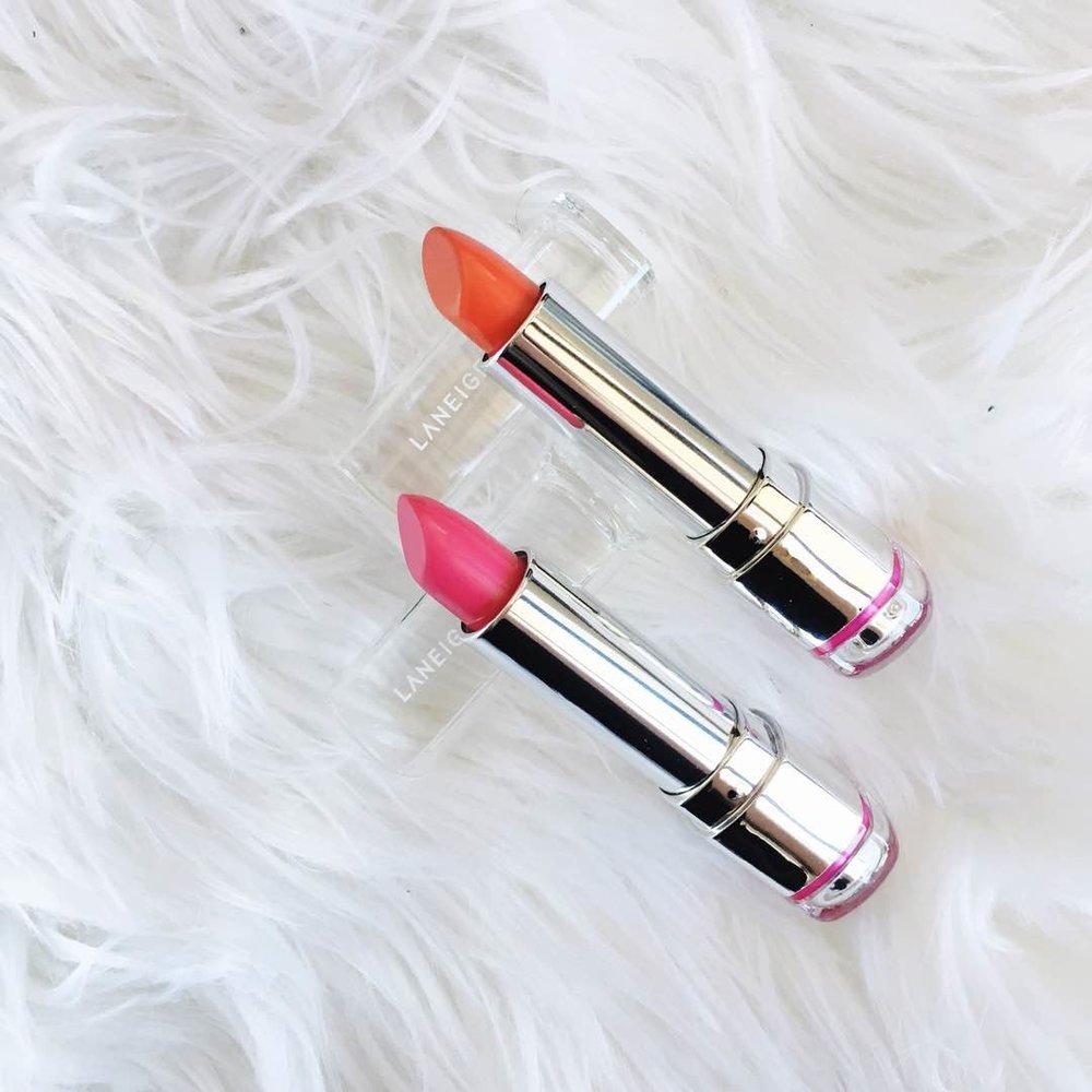 Laneige Silk Intense Lipsticks - Jealous / Clubbing