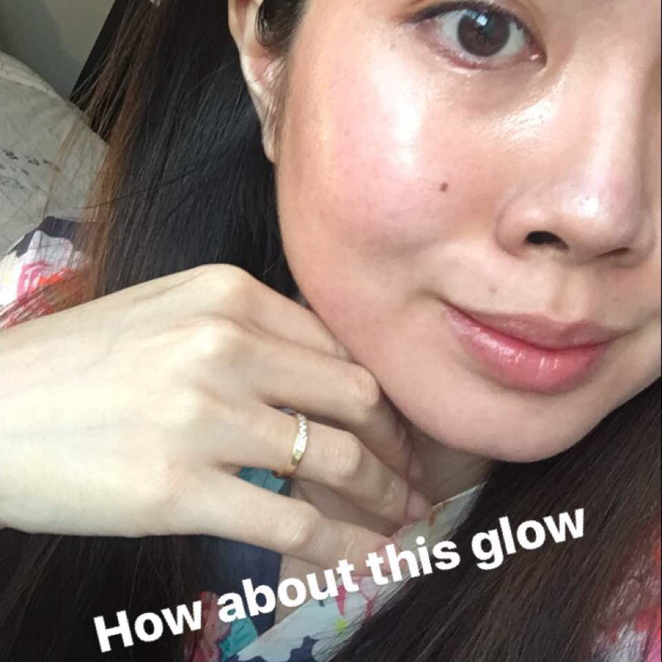 New Hgs Laneige White Dew Tone Up Cream Review Maskotd Ampoule Essence Set The Glow I Got Was Like Freaking Blinding Wasnt From Reflection Of Leftover Btw Its Legit My Skin After Put Moisturizer
