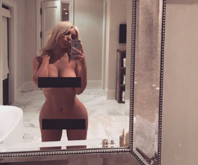 Columbus boudoir photographer opinion on Kim K naked selfie