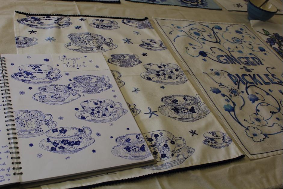 Tea towel designs
