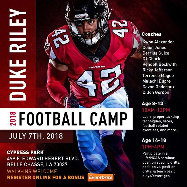 Time is running out, spots filling up quickly. Check out the lineup of coaches that will be out there with me coaching🔥. Register today, link in bio!