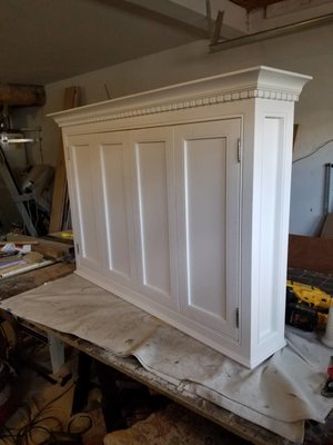 Television Cabinet With Doors Msm Carpentry