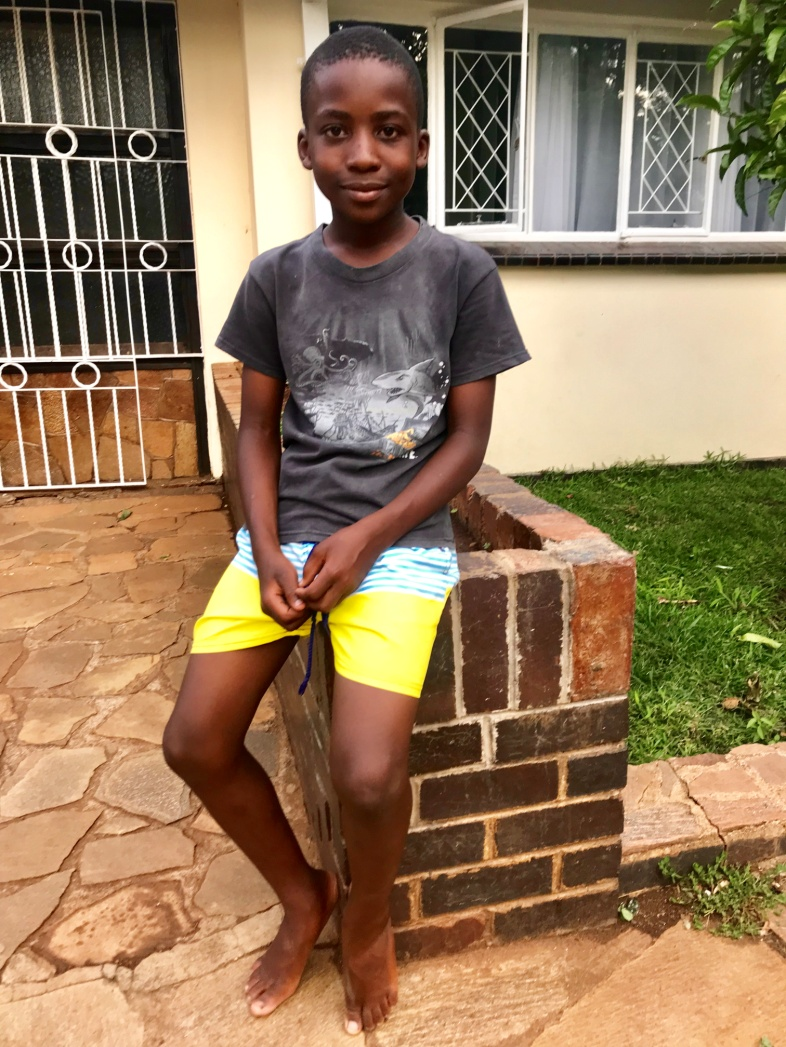6 February 2019 update - Nyasha is now in Grade 7 at Marlborough Primary School. He is an average student in academics and a very avid sportsman.