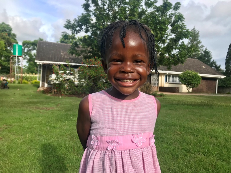 6 Feb 2019 update - Kim started preschool this year. She is at Gabas with her brothers Panashe, Kudakwashe and Anopaishe. She has made remarkable milestones.