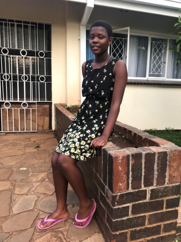 6 Feb 2019 update - Blessing has managed to balance sports and academics. She is on the school soccer team and her performance in class has been pleasing. She is now doing Form 3.