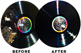 spin clean before and after