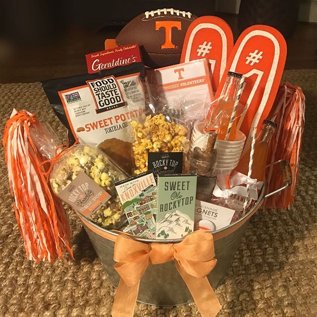 Thanks to @chickfila for the opportunity to create such a festive welcome gift for the #chickfilakickoff game tonight! #customgifts #sec #collegefootball