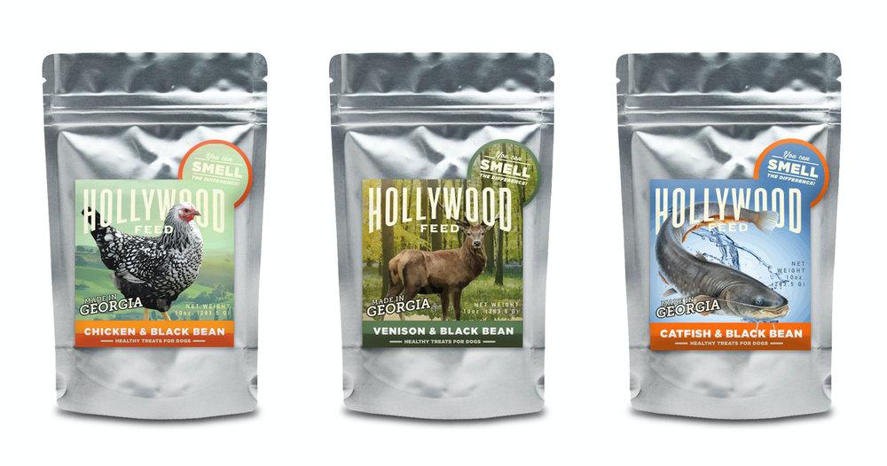 Additional dog treats labels for Hollywood Feed