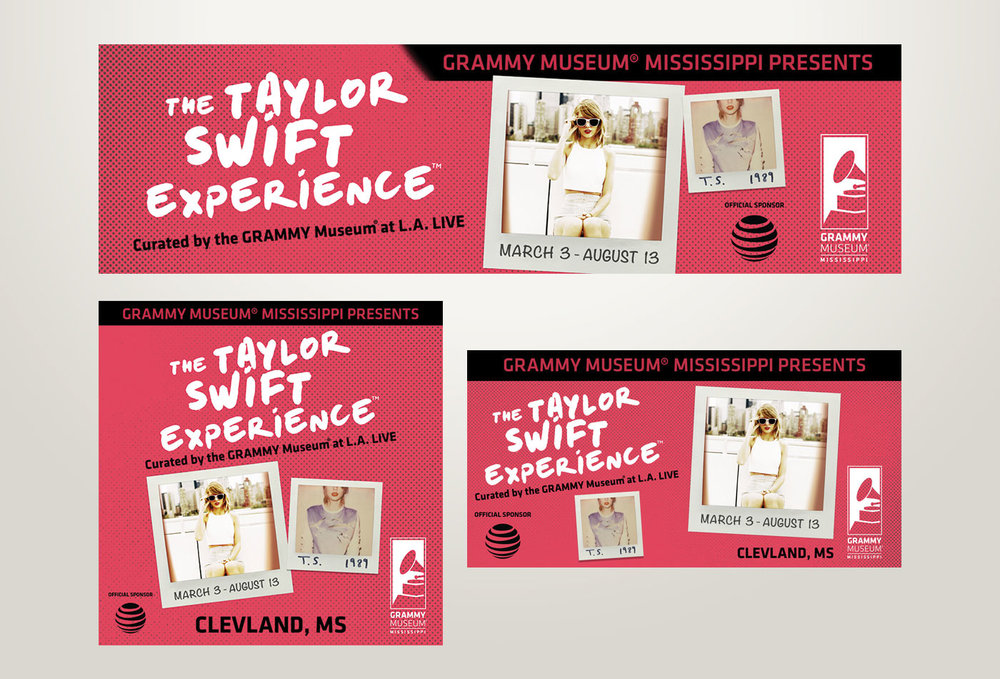 Digital campaign for Taylor Swift Experience