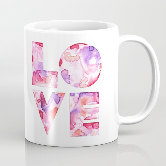 LOVE / Mug / $15