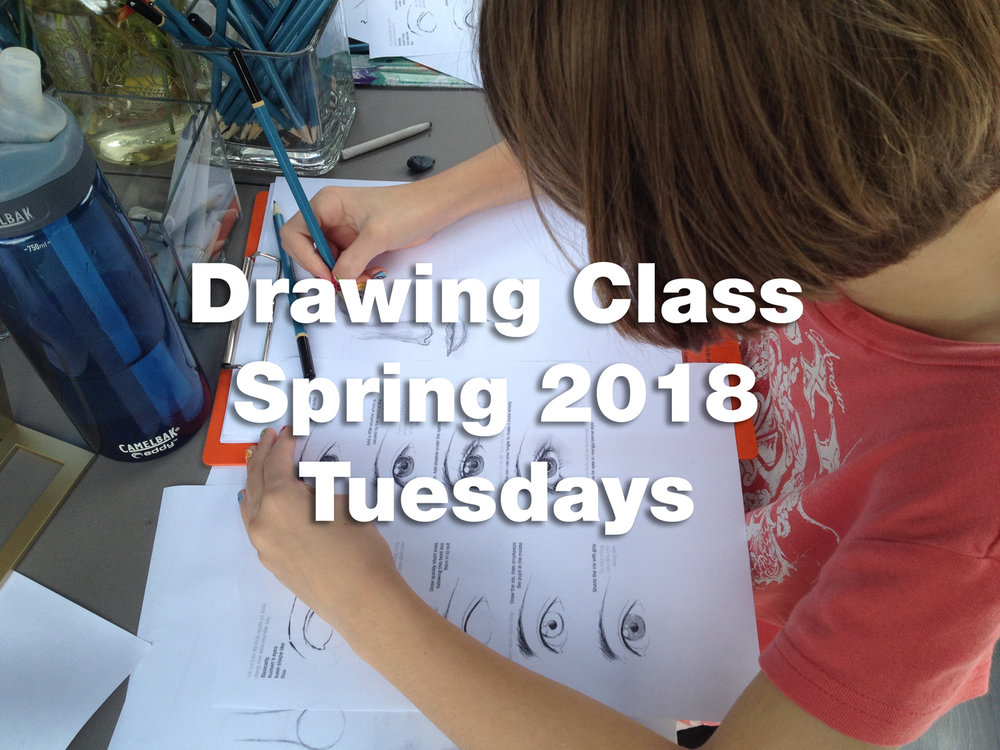spring 2018 Drawing class eyes.jpg