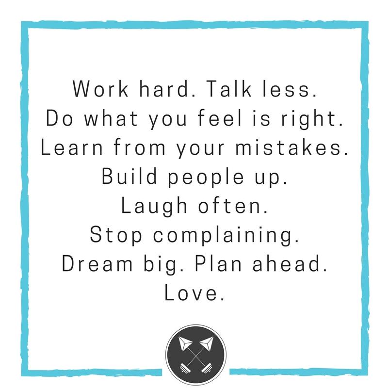 #4 - WORK HARD!