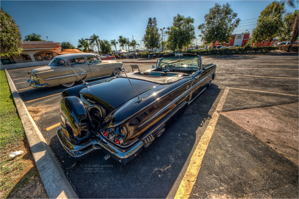 1954 bel air and 1958 impala
