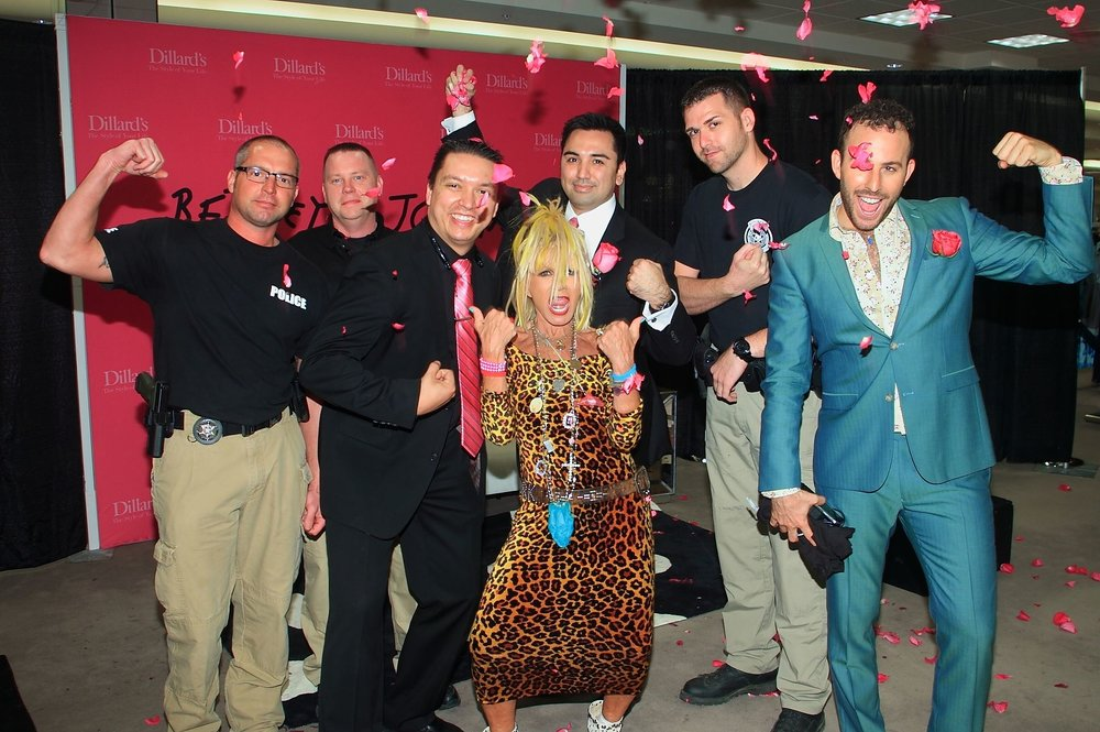 Micah Jesse and Betsey Johnson