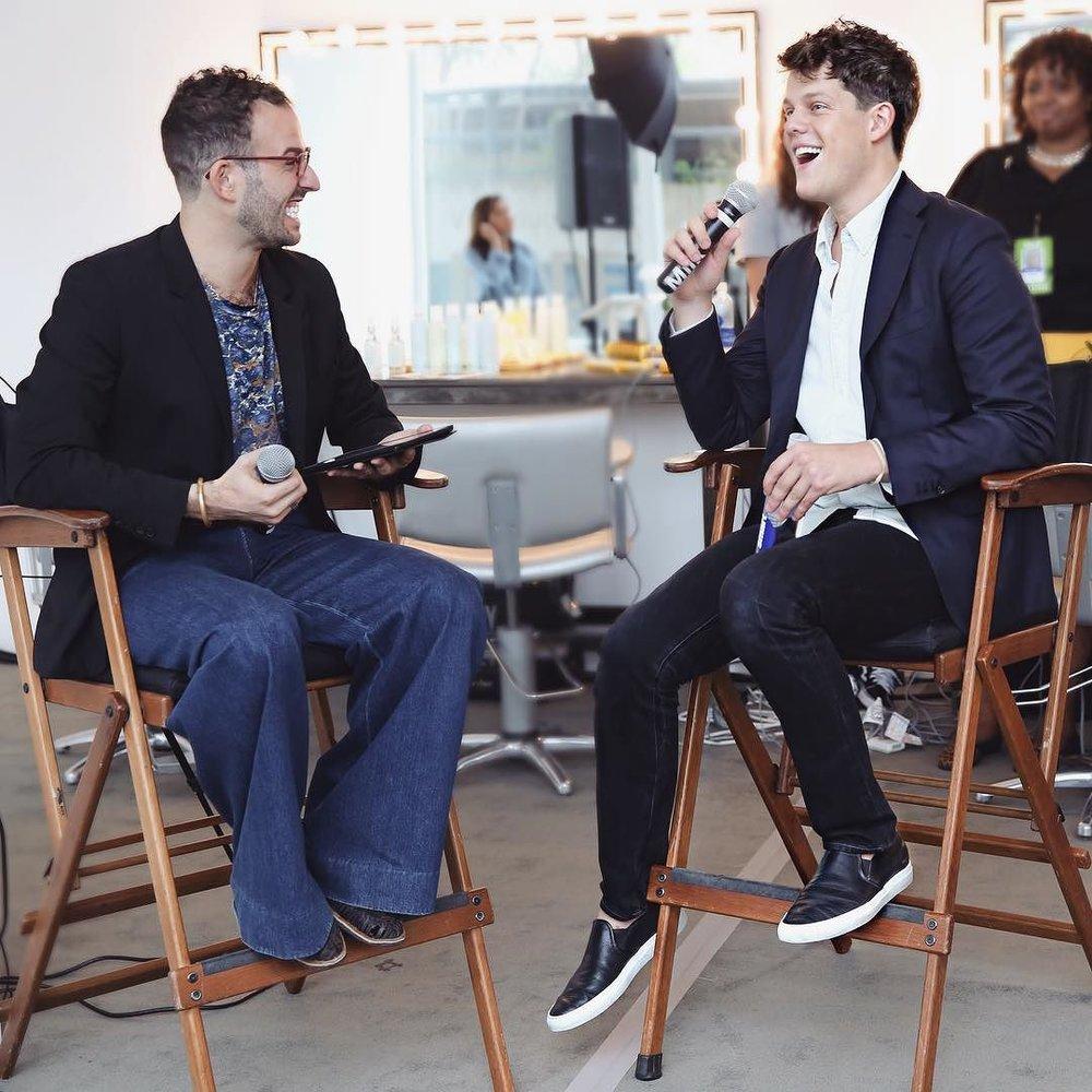 Micah Jesse interviews designer Wes Gordon