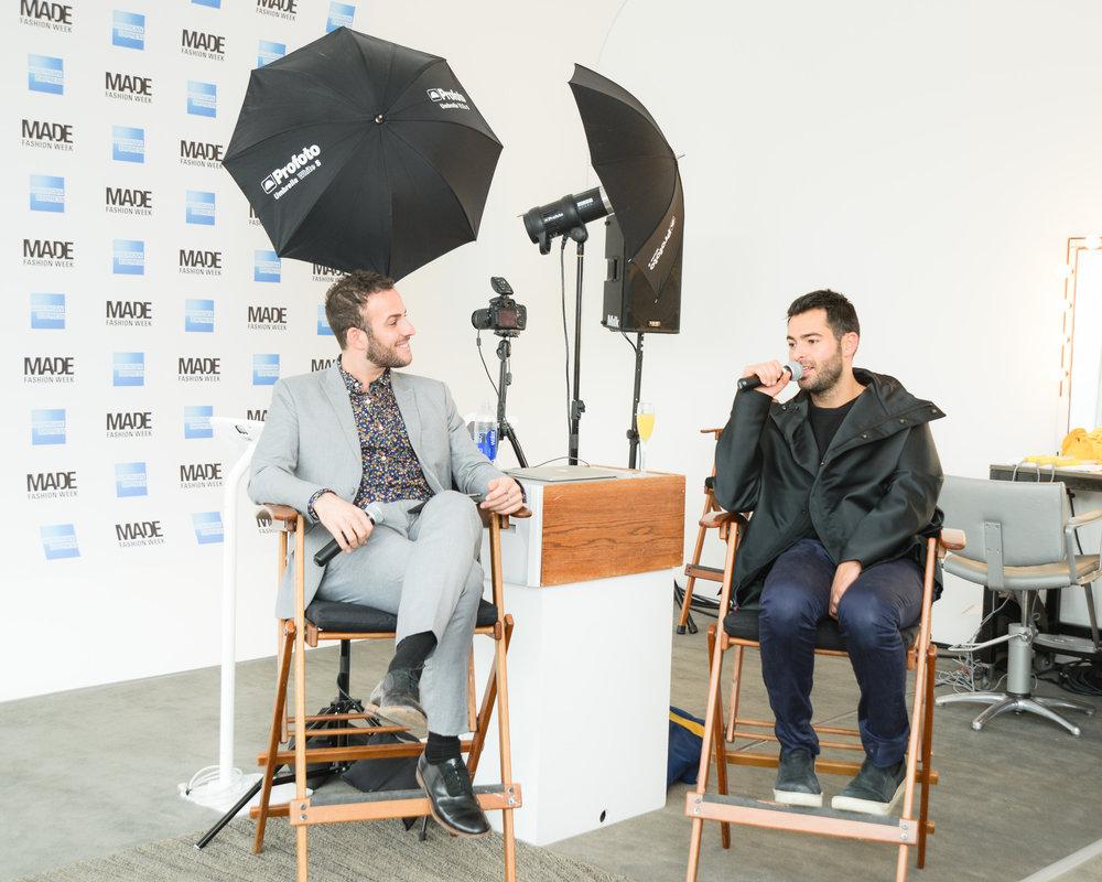 Micah Jesse interviews designer Jonathan Simkhai