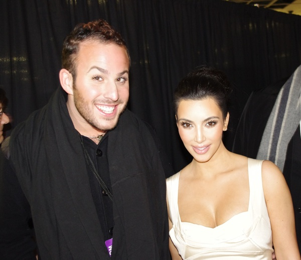 Micah Jesse and Kim Kardashian