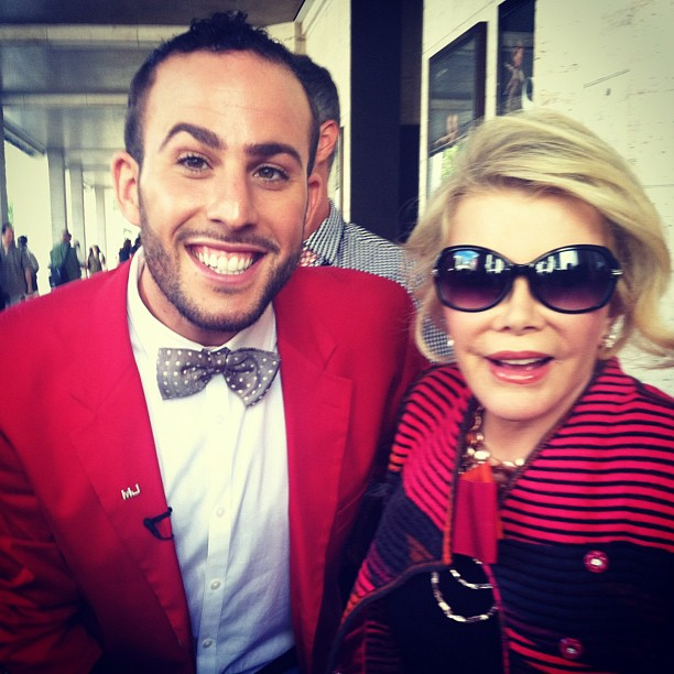 Micah Jesse and Joan Rivers (R.I.P.)