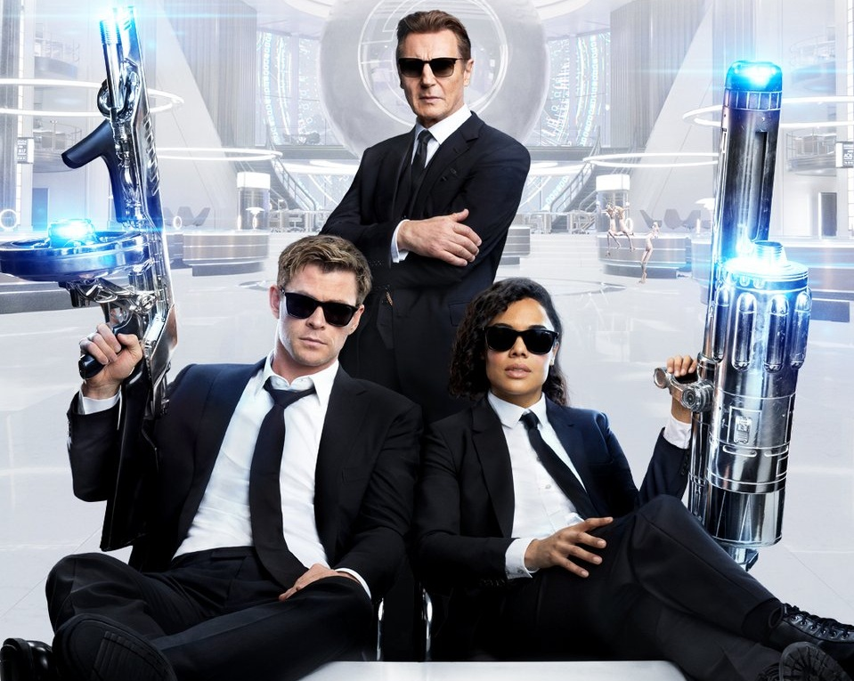 Same Suits, New Faces  The Official Trailer For Men In Black