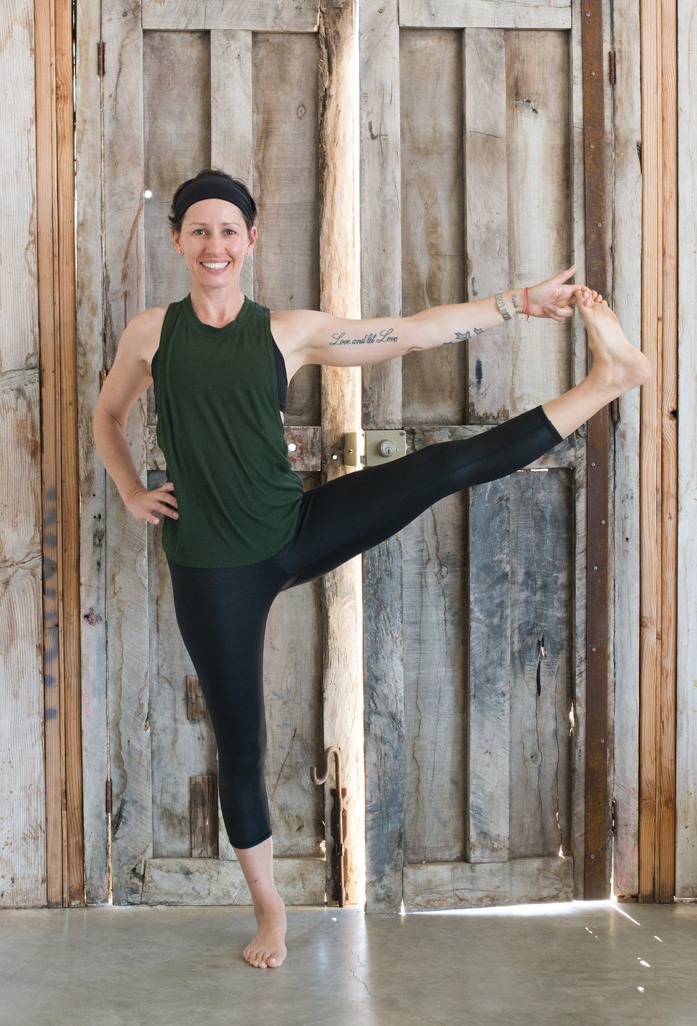 About Sara-Mai: - With several past lives in the fitness industry as an athlete, coach, administrator and entrepreneur, it's no surprise that it's the physicality of the power practice that first attracted Sara-Mai to yoga. Years later, it's the spiritual limbs of yoga that keep her hooked, and she strives to offer the full spectrum of the practice to her students. Sara-Mai's classes are informed by her athleticism and her advanced studies in mindfulness and Tibetan Buddhism. Her teaching will encourage you to seek challenge where you need it that day, be it via movement or stillness. A 200-hour Yoga Alliance certified instructor, Sara-Mai has completed several hours of continuing education in meditation, Buddhist studies and Yogic philosophy.Sara-Mai completed a Masters Degree in Sport Management at the University of San Francisco in 2004 and is a 1999 graduate of Tufts University. Off the mat, she can be found adventuring between her homes in the Texas Hill Country, and Southern Baja with her husband and two dogs, Sport and Bug.Sara-Mai is a yoga & meditation instructor with Baja Surf Yoga and will be co-teaching both January 2019 retreats.