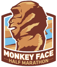 Monkey Face Half logo