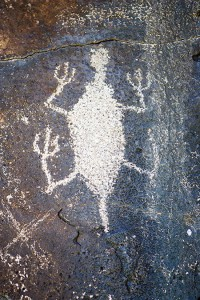 Hart Mountain petroglyph