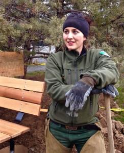 Josie Barnum- New Ranger at Smith Rock State Park