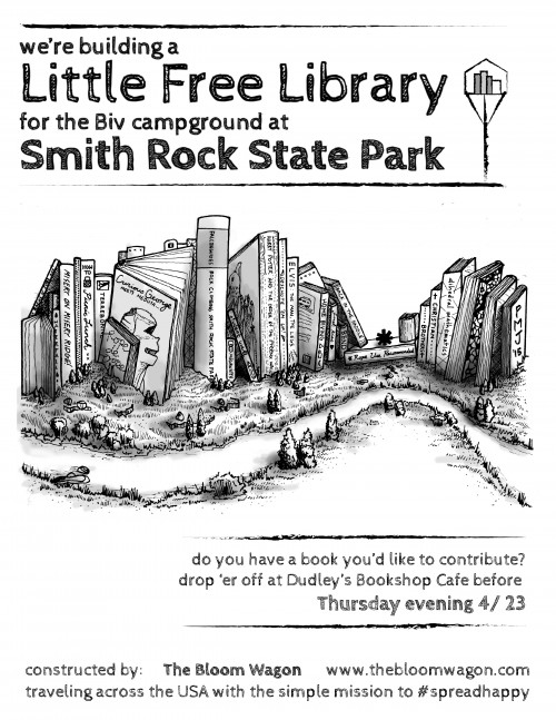Smith Rock Little Free Library Poster