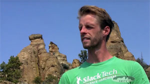 Jason Fautz of the Unofficial Smith Rock Highline Festival