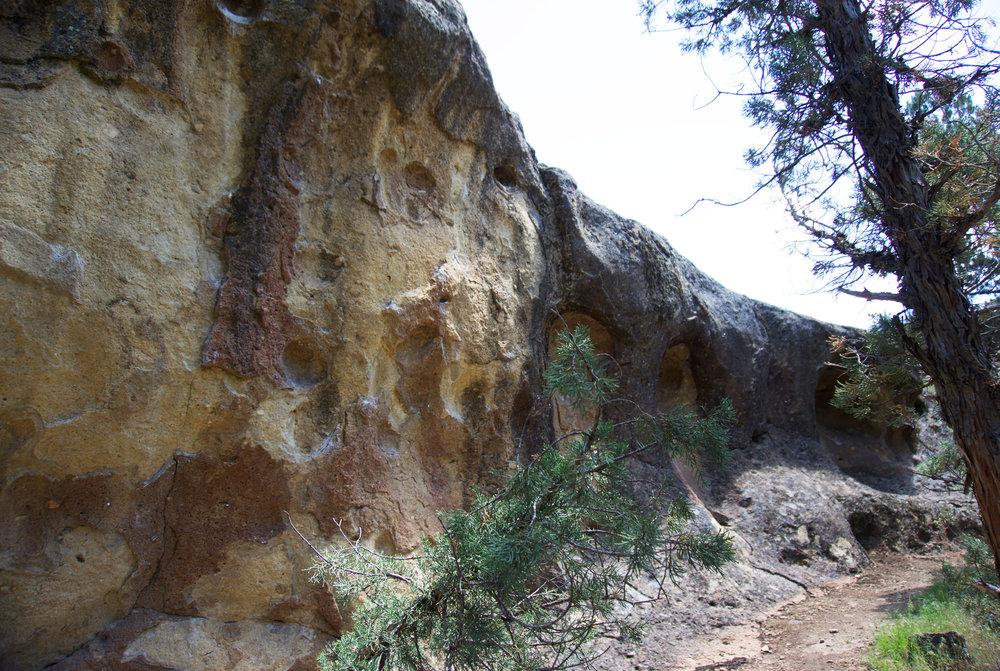 Bivy Bouldering Area