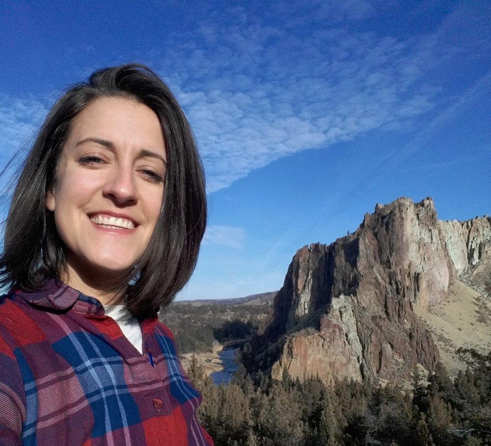Dana Bartus, concerned Smith Rock climber