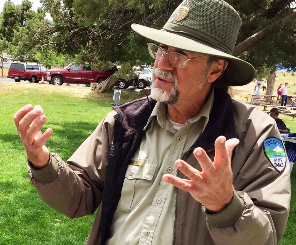 Currently retired Park Naturalist David Vick will lead the Wolf Tree Hike.