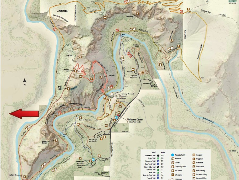 River Trail closure in effect as of April 6, 2019