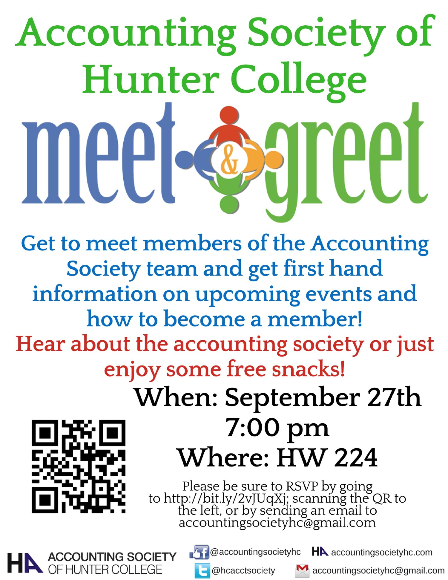 Meet And Greet Accounting Society Of Hunter College