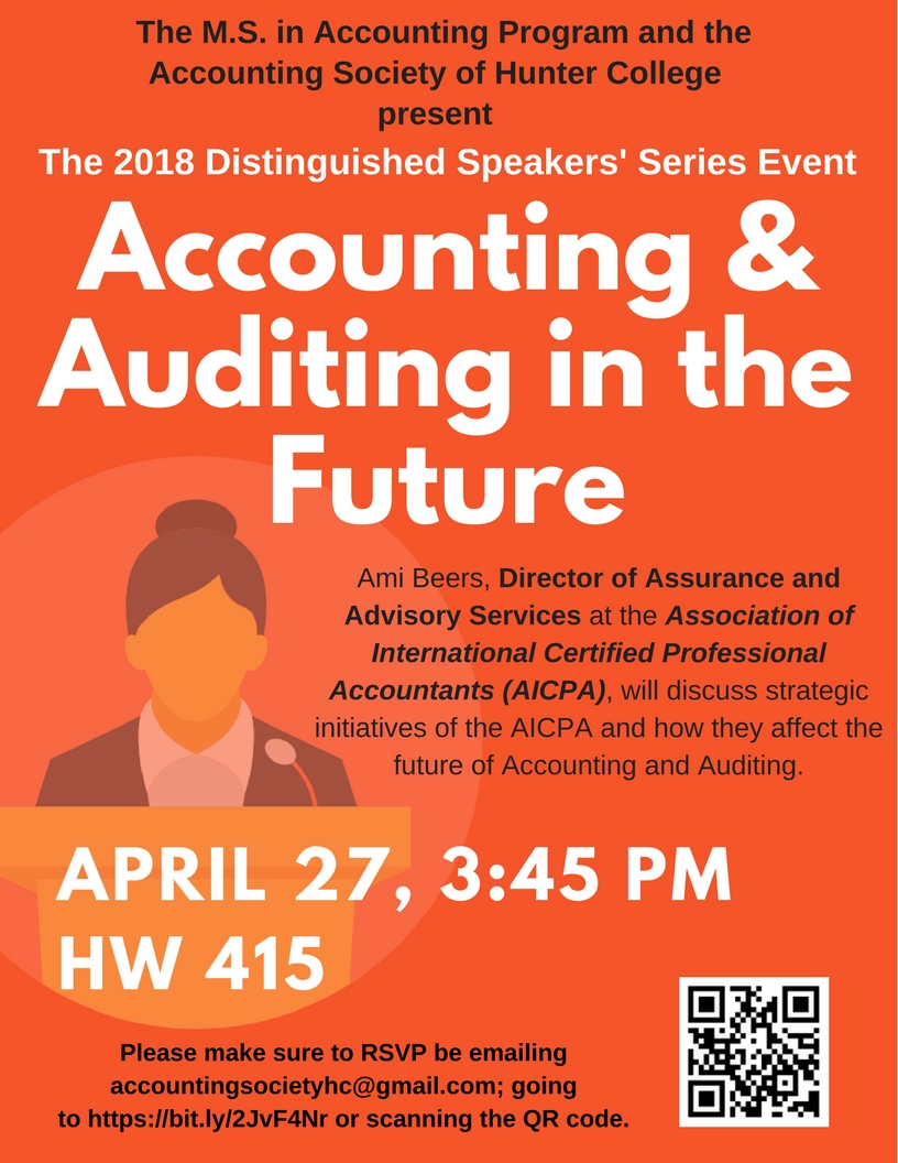 The Future of Accounting and Auditing — Accounting Society