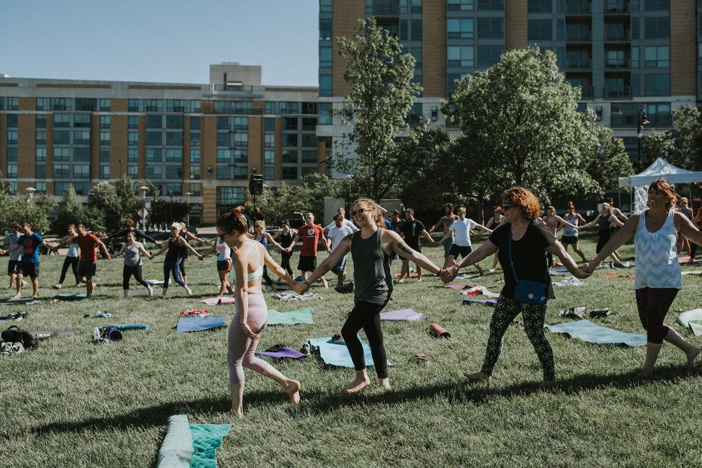 Yoga Rocks The Park- Omaha 2017