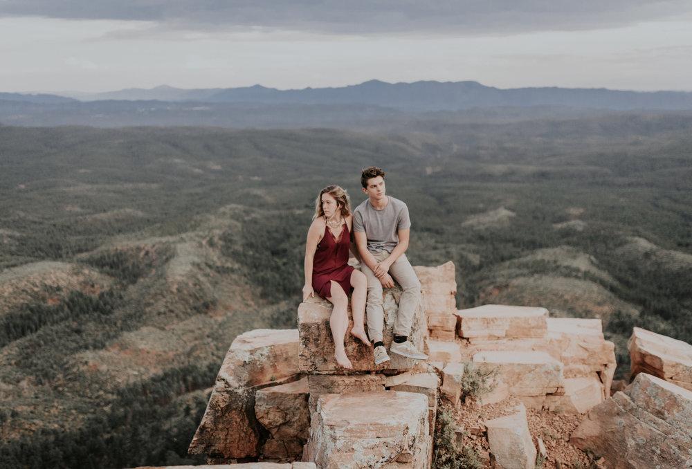 Engagement Mogollon Rim Payson Arizona Kate + Austin-14.jpg
