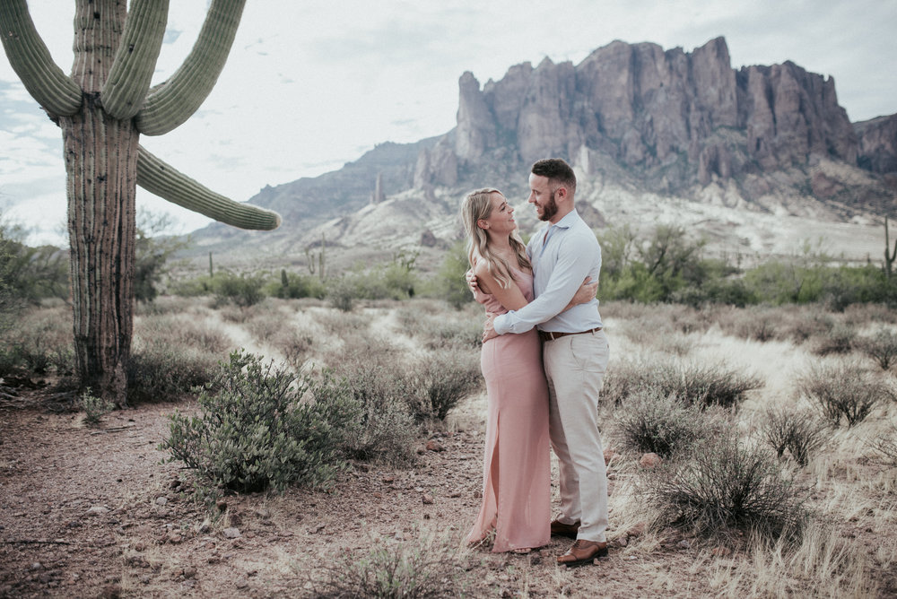 Lost Dutchman State Park Superstition Mountains Engagement-28.jpg