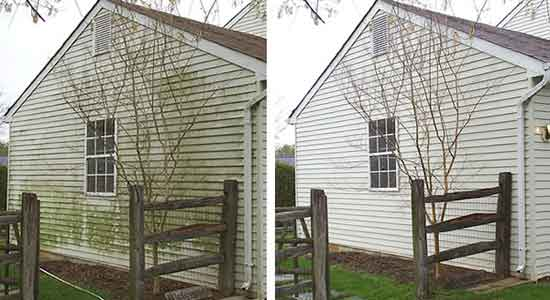 Siding cleaning oakville on