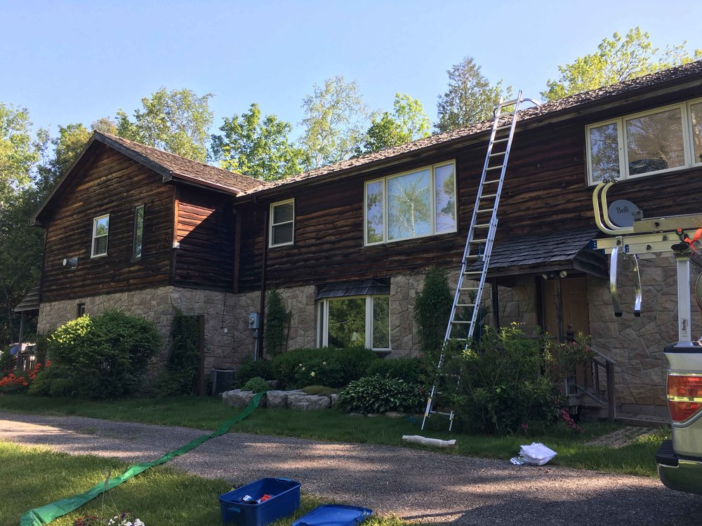 Cedar Siding Cleaning Toronto ON
