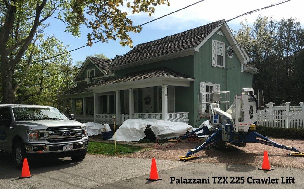 Cedar roof stain removal toronto