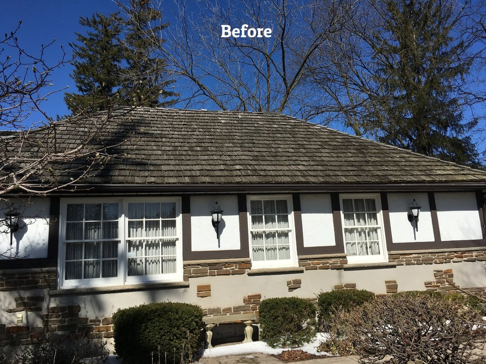 Cedar shingle sealant