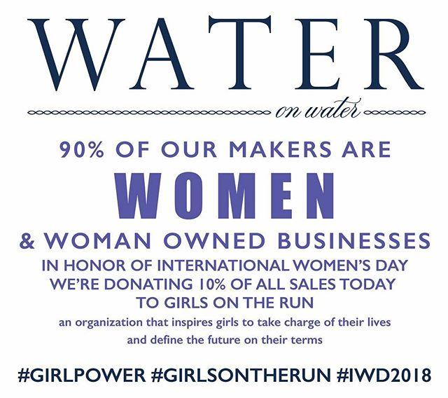 Celebrating women today. #girlpower #girlsontherun #iwd2018