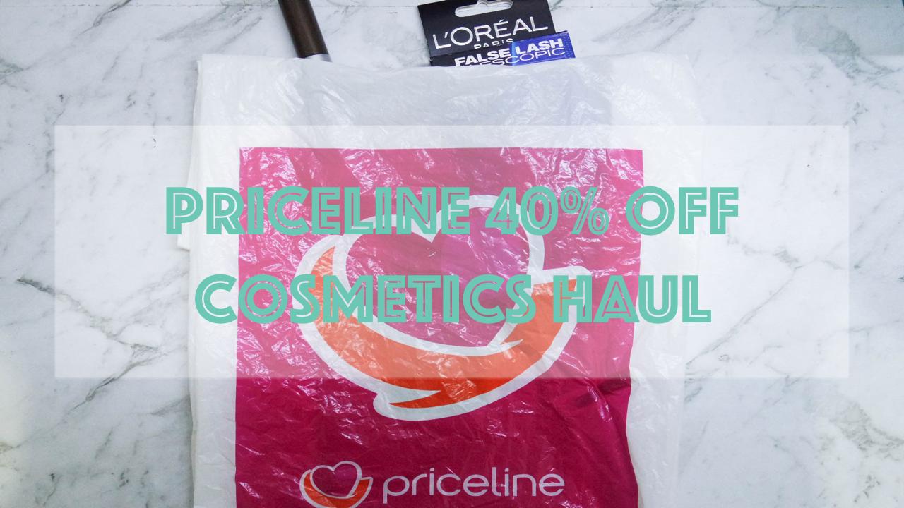 ec23c2dd1f0 Priceline 40% off Cosmetics HAUL — Simplesocialsister