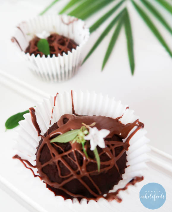 chocolate zuchinni muffin