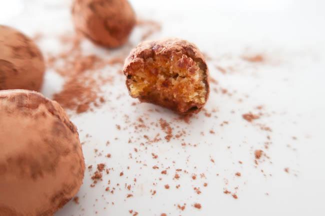 apricot coconut bliss balls