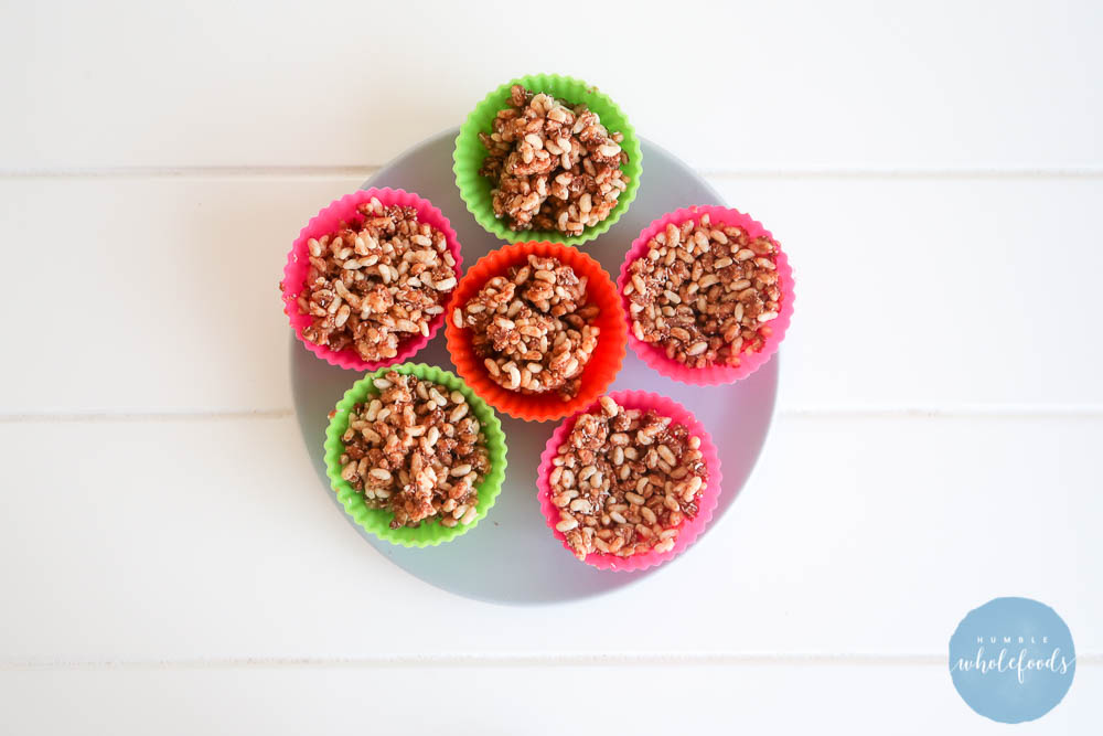 peanut butter crackle cups