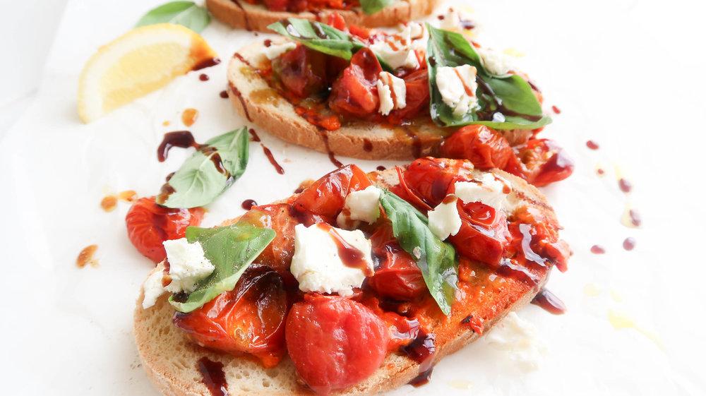 humble wholefoods tomato bruschetta