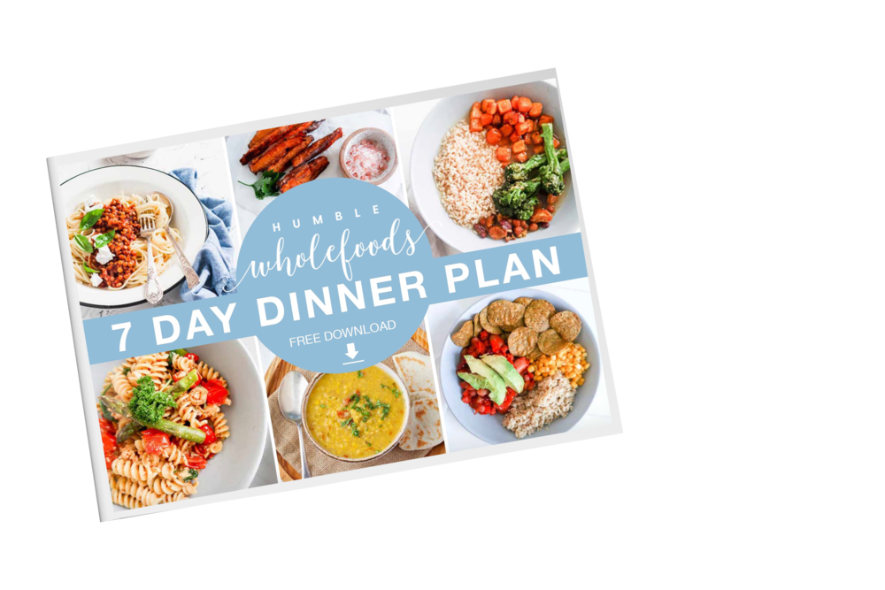 humble wholefoods free 7 day dinner plan